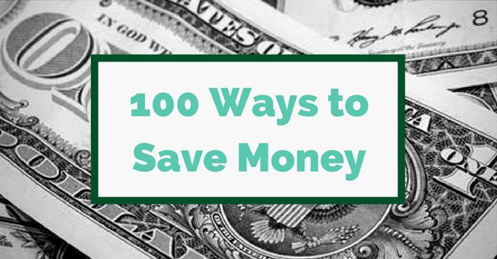 100+ Creative Money Saving Ideas You Can Start Today