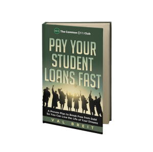 3D book cover pay your student loans fast