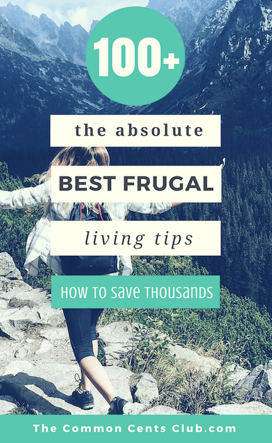 The Absolute Best Frugal living Tips