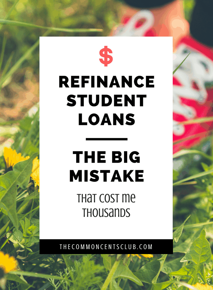 refinancing student loans and pay off college debt without costly mistake