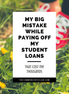 refinancing student loans and pay off college debt without my mistake