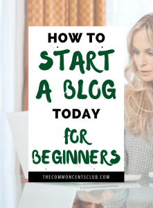 Learn how to start a blog today for beginners. Start blogging for money or fun.