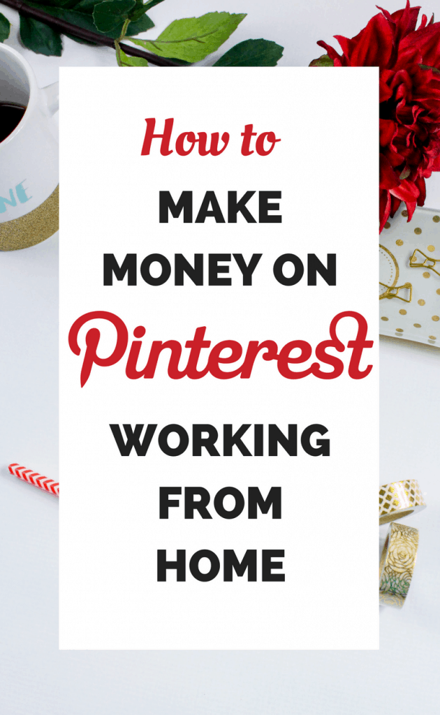 Make money on Pinterest working from home