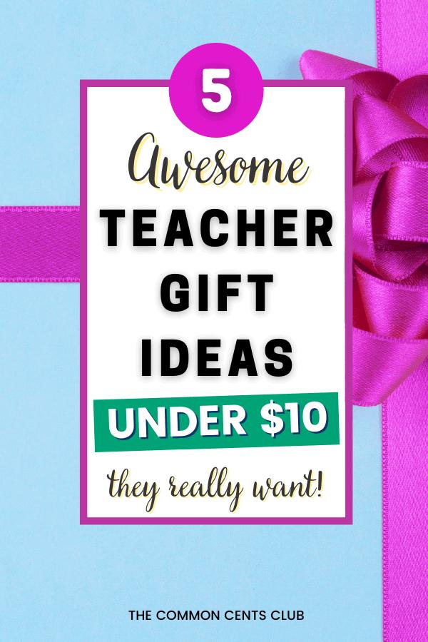 awesome-teacher-gift-ideas-under-ten-dollars-common-cents-club-pinterest
