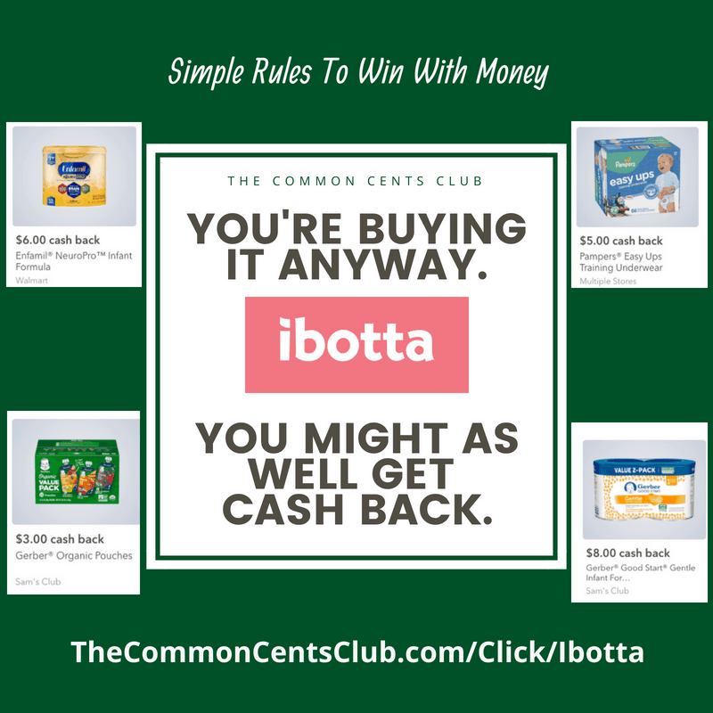 ibotta coupons for pregnant women and baby stuff