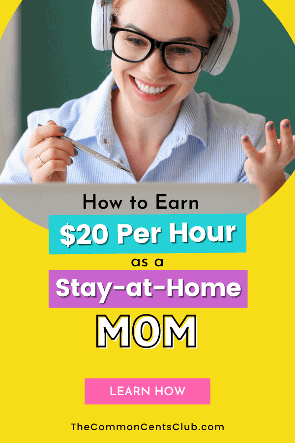 earn-20-per-hour-online-stay-at-home-mom-common-cents-club-pinterest