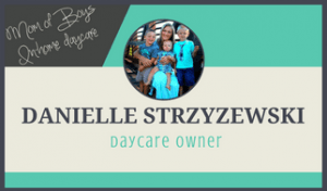 Mom makes money from home running a daycare