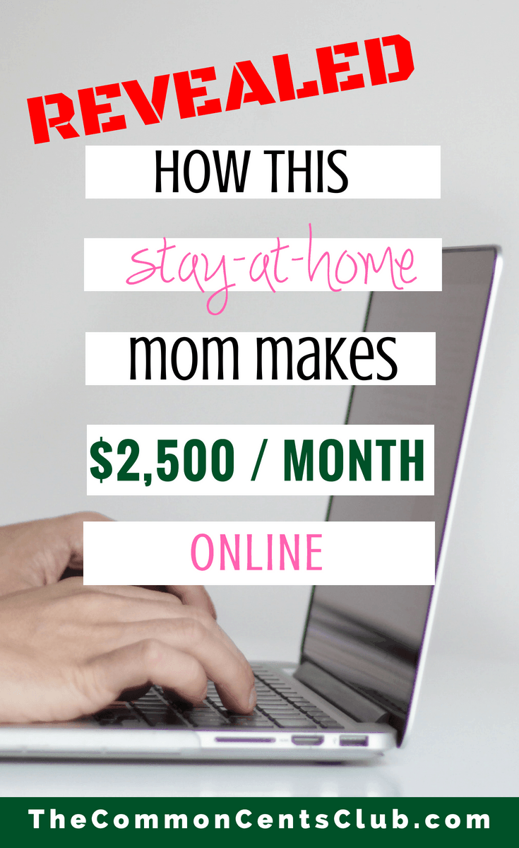 How To Make Money As A Stay At Home Mom - Best Jobs For Moms 2018