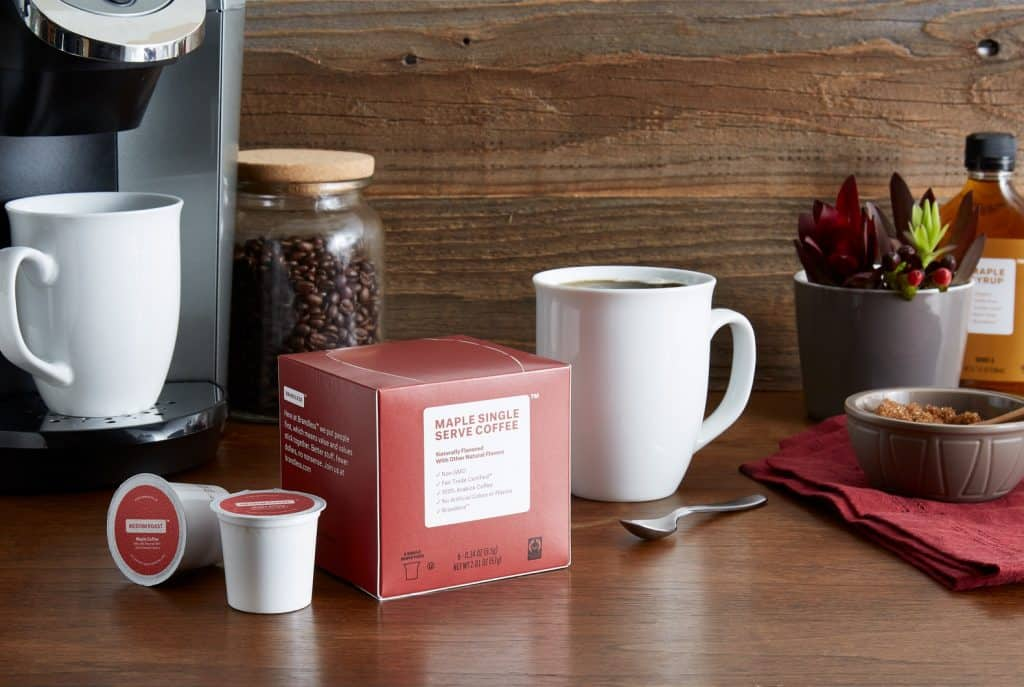 Brandless product reviews maple coffee pods