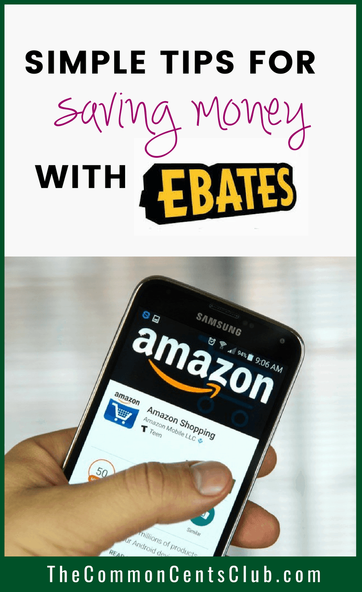 money saving tips with ebates