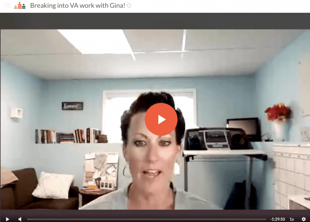 free virtual assistant training by gina horkey