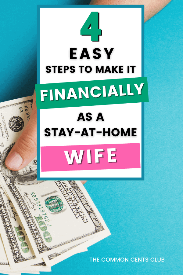 live-off-one-income-stay-at-home-wife-common-cents-club-pinterest
