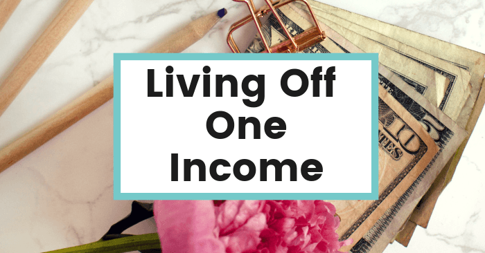 living off one income stay at home wife mom featured pic