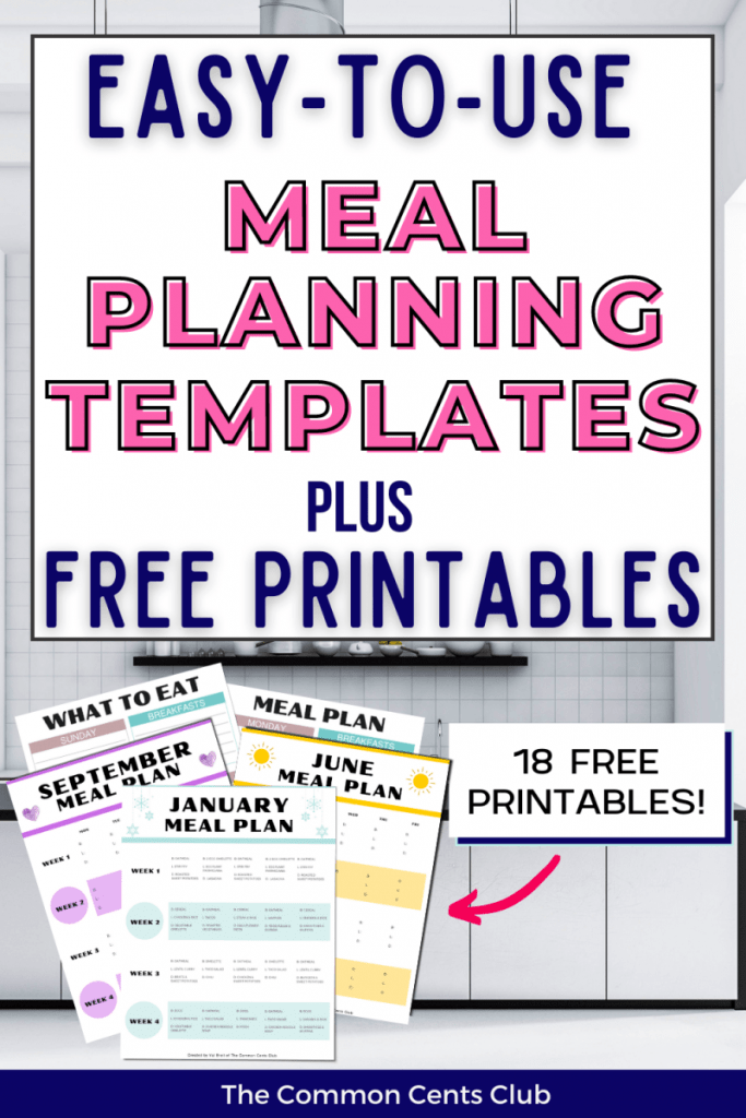 best-meal-planning-templates-free-printable-common-cents-club-pinterest