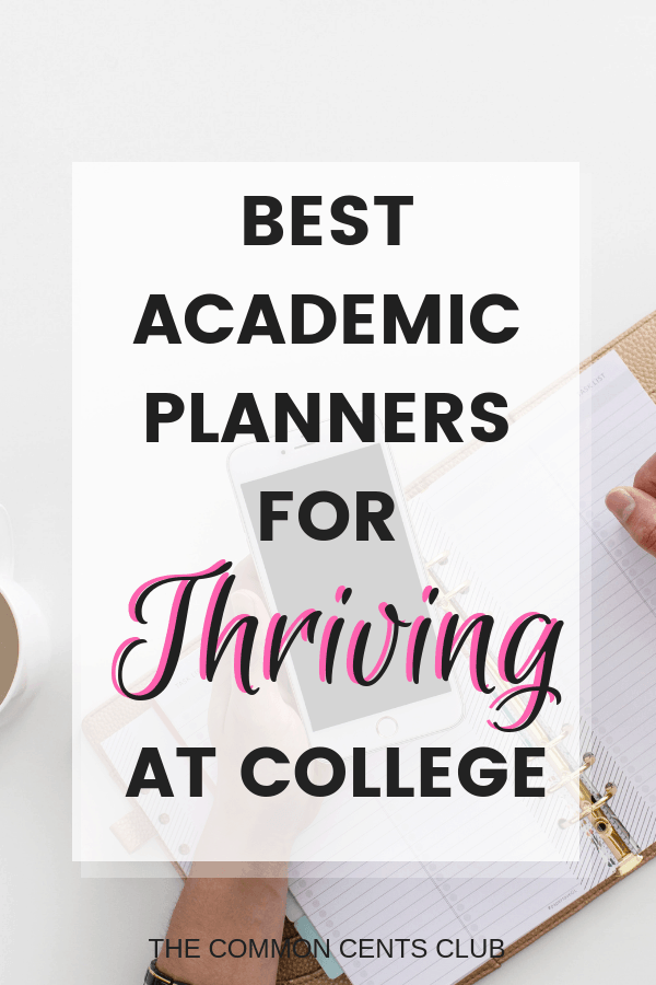 best-academic-planners-for-college