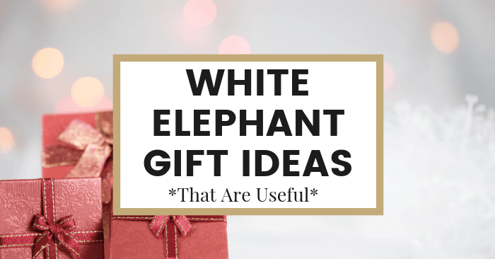 25 Useful White Elephant Gift Ideas Everyone Will Fight For The Common Cents Club