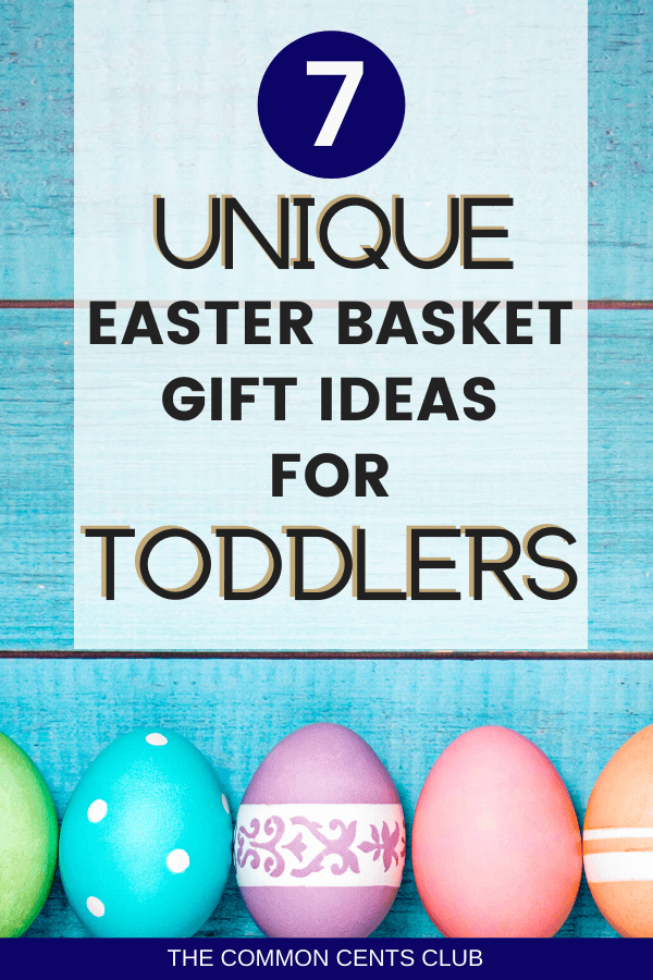 easter basket ideas for toddlers unique