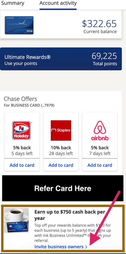 how-to-refer-chase-ink-business-unlimited-card