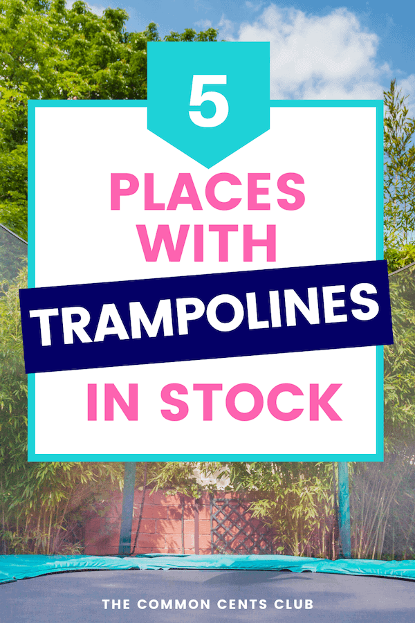 where-to-buy-trampolines-online-common-cents-club-pinterest