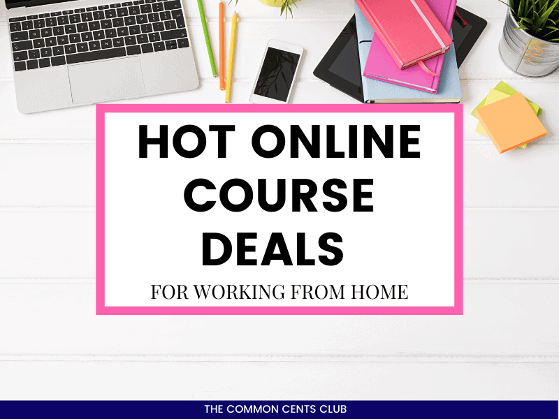 best-online-course-deals-work-from-home-common-cents-club-featured-image
