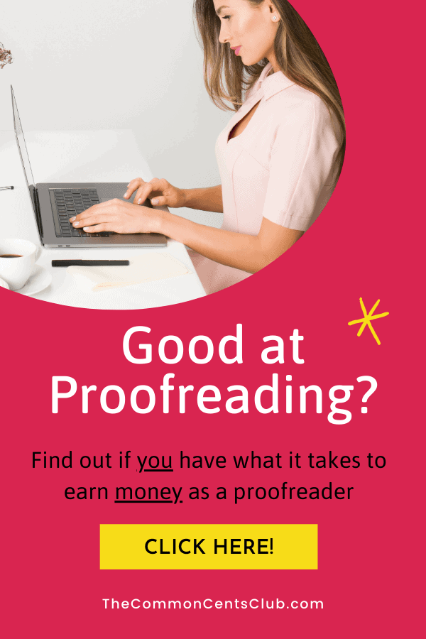 how-to-make-money-proofreading-common-cents-club-pinterest