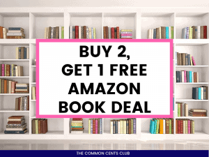 Buy-2-Get-1-Free-Book-Deal-Amazon-Featured-Image-Common-Cents-Club