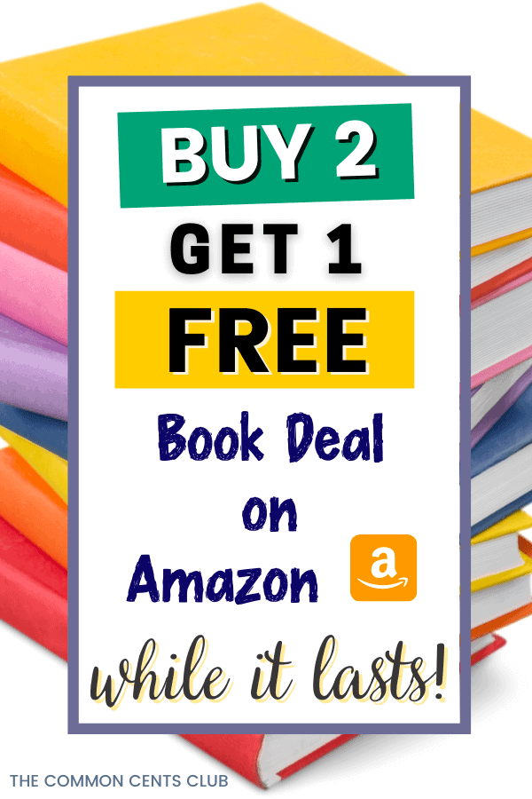 get-free-book-amazon-sale-buy-2-get-1-free-common-cents-club-pinterest