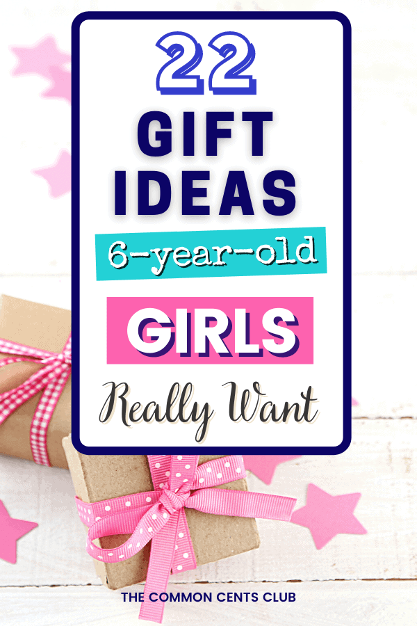 Gift 6 year old girls christmas birthday common cents club pinterest